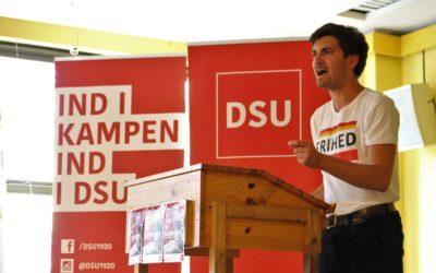 DSU skal stå op for det frie ord