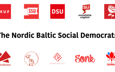 The Nordic Baltic Socialdemocrats must get ready to work closer together!